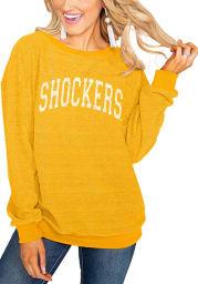 Gameday Couture Wichita State Shockers Womens Black Its a Date Crew Sweatshirt