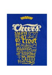 Victory Brewing Philadelphia Womens Blue Beer Cheers Short Sleeve T Shirt