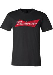 Budweiser St Louis Black Logo Short Sleeve T Shirt