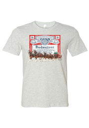 St Louis Grey Clydesdale Logo Short Sleeve T Shirt