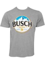 St Louis Grey Logo Short Sleeve T Shirt