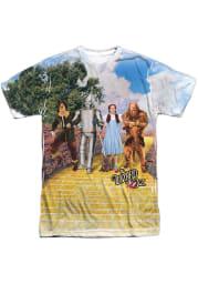 Wizard of Oz Yellow Scene Short Sleeve Fashion T Shirt