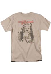 Wizard of Oz Womens Tan Put Em Up Short Sleeve T-Shirt