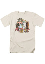 Wizard of Oz Womens Tan Always Ask for Direction Short Sleeve T-Shirt