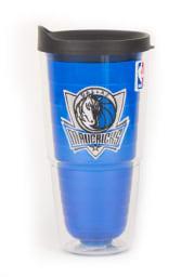 Dallas Mavericks 24oz Blue Tumbler