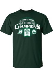 Northwest Missouri State Bearcats Green 2021 National Champions Short Sleeve T Shirt