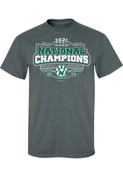 Northwest Missouri State Bearcats Charcoal 2021 National Champions Short Sleeve T Shirt