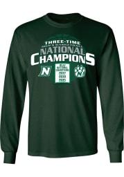Northwest Missouri State Bearcats Green 2021 National Champions Long Sleeve T Shirt