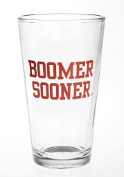 Oklahoma Sooners Boomer Sooner Pint Glass