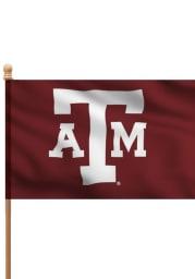 Texas A&M Aggies 3x5 Maroon Sleeve Applique Flag