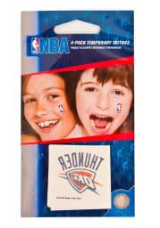 Oklahoma City Thunder 4 Pack Tattoo