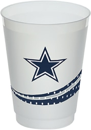 Dallas Cowboys Jersey Collection 160z Frost-Flex Disposable Cups