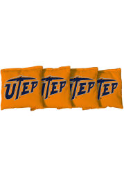 UTEP Miners Corn Filled Cornhole Bags Tailgate Game