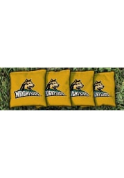 Wright State Raiders Corn Filled Cornhole Bags Tailgate Game
