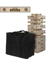 Boston Bruins Giant Tumble Tower Tailgate Game