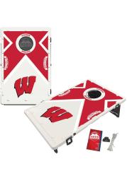 Wisconsin Badgers Baggo Bean Bag Toss Tailgate Game