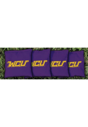 West Chester Golden Rams Corn Filled Cornhole Bags Tailgate Game