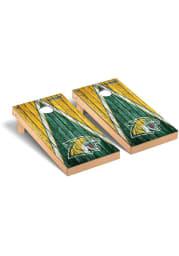 Northern Michigan Wildcats Triangle Regulation Cornhole Tailgate Game