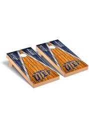 UTEP Miners Triangle Regulation Cornhole Tailgate Game