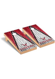 Eastern Washington Eagles Triangle Regulation Cornhole Tailgate Game