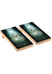 UNCW Seahawks Museum Regulation Cornhole Tailgate Game