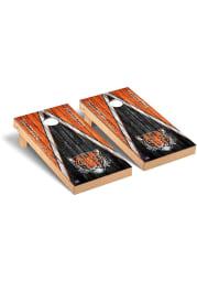 Princeton Tigers Triangle Regulation Cornhole Tailgate Game