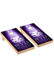 NYU Violets Museum Regulation Cornhole Tailgate Game