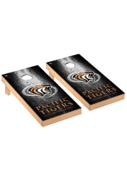 Pacific Tigers Museum Regulation Cornhole Tailgate Game