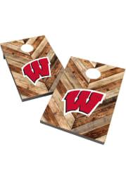 Wisconsin Badgers 2X3 Cornhole Bag Toss Tailgate Game