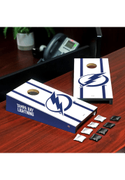 Tampa Bay Lightning Desktop Cornhole Desk Accessory