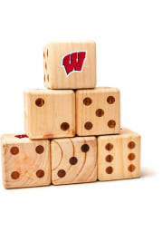 Wisconsin Badgers Yard Dice Tailgate Game