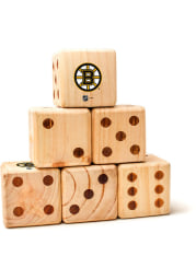 Boston Bruins Yard Dice Tailgate Game