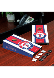 Texas Rangers Desktop Cornhole Desk Accessory