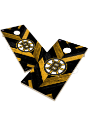 Boston Bruins 2x4 Cornhole Set Tailgate Game