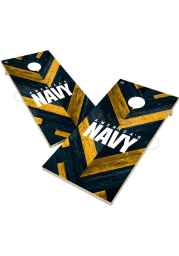 Navy 2x4 Cornhole Set Tailgate Game