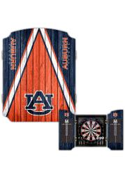 Auburn Tigers Team Logo Dart Board Cabinet