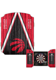 Toronto Raptors Team Logo Dart Board Cabinet