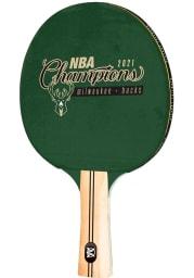 Milwaukee Bucks 2021 NBA Finals Champions Table Tennis Paddle Table Tennis