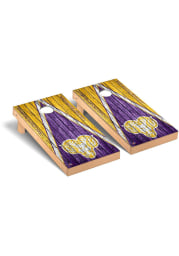 West Chester Golden Rams Triangle Weathered Version Cornhole Tailgate Game