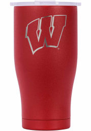 Wisconsin Badgers ORCA Chaser 27oz Etch Stainless Steel Tumbler - Red