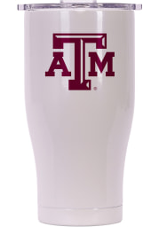 Texas A&M Aggies ORCA Chaser 27oz Full Color Stainless Steel Tumbler - White