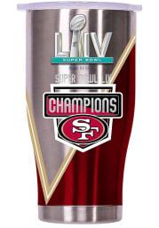 San Francisco 49ers Super Bowl LIV Champs 27oz Stainless Steel Tumbler - White