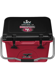 San Francisco 49ers Super Bowl LIV Champs 20qt Cooler
