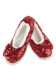 Wizard of Oz Womens Ruby Red Snoozies Footcoverings