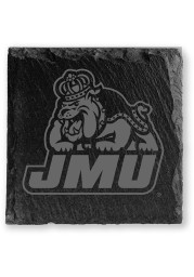 James Madison Dukes Slate Coaster