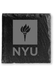 NYU Violets Slate Coaster