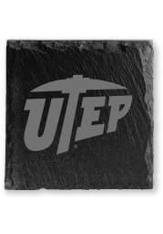 UTEP Miners Slate Coaster