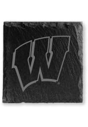 Wisconsin Badgers Slate Coaster