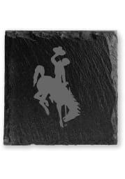 Wyoming Cowboys Slate Coaster