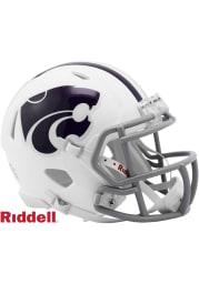 K-State Wildcats White Speed Mini Helmet